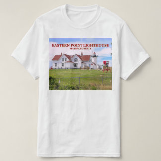 Eastern Point Lighthouse, Massachusetts T-Shirt