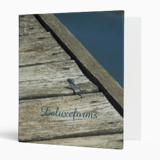 Eastern Pondhawk Dragonfly 3 Ring Binder
