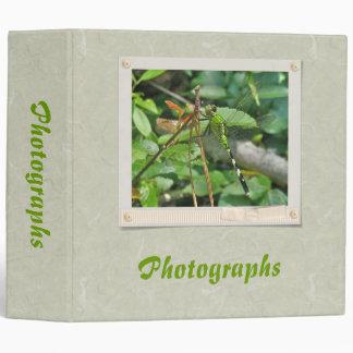 Eastern Pondhawk Dragonfly Items Binder