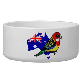 Eastern Rosella of Australia Bowl