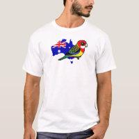 Eastern Rosella of Australia Men's Basic T-Shirt