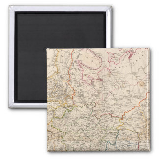 Eastern Russia 2 Inch Square Magnet