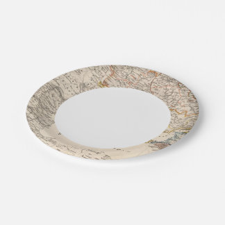 Eastern Russia Paper Plate