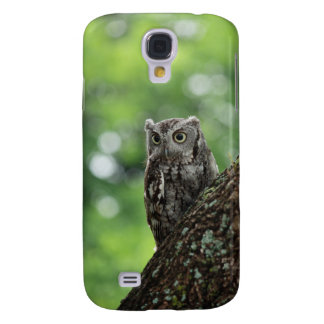 Eastern Screech Owl Camouflage Galaxy S4 Cover