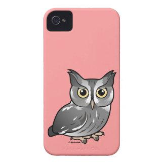 Eastern Screech Owl (Gray Phase) Blackberry Bold Cases