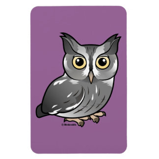 Eastern Screech Owl (Gray Phase) Magnet