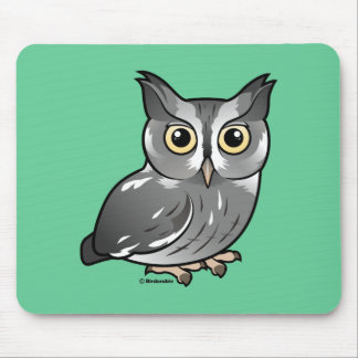 Eastern Screech Owl (Gray Phase) Mouse Pad