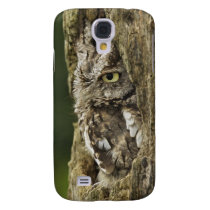 Eastern Screech Owl Gray Phase) Otus asio, Samsung S4 Case