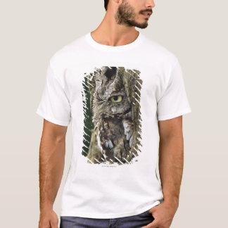 Eastern Screech Owl (Gray Phase) Otus asio T-Shirt