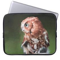 Eastern Screech Owl Laptop Sleeve