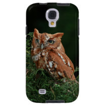 Eastern Screech Owl photo Galaxy S4 Case