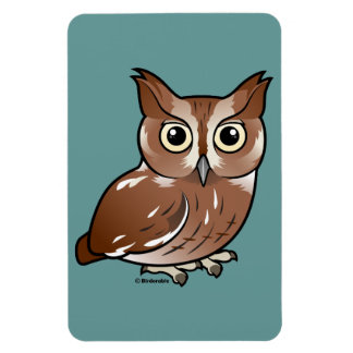 Eastern Screech Owl (Red Phase) Magnet