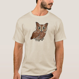 Eastern Screech Owl (Red Phase) T-Shirt