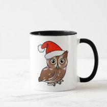 Eastern Screech Owl Santa Mug