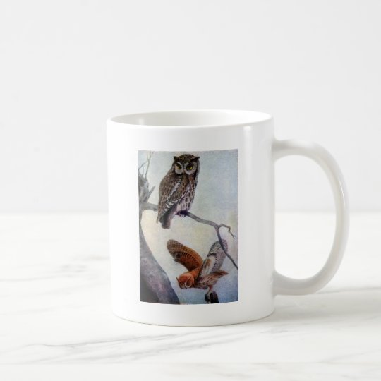Eastern Screech Owls Coffee Mug