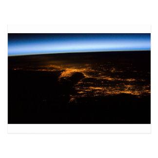 Eastern Seaboard pan ESC_large_ISS026_ISS026-E-130 Postcard