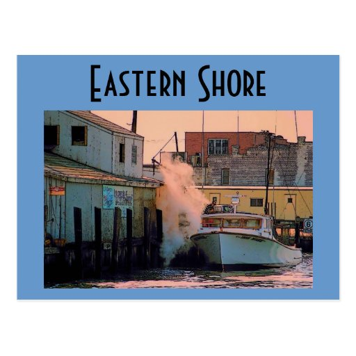 Eastern Shore Postcard