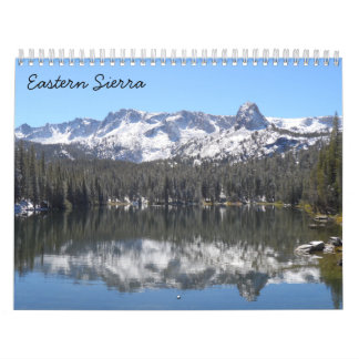 Eastern Sierra 2016 Calendar