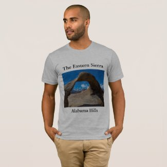 Eastern Sierra Alabama Hills Men's T-Shirt
