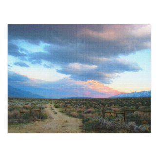 Eastern Sierra Landscape - Owens Valley Postcard