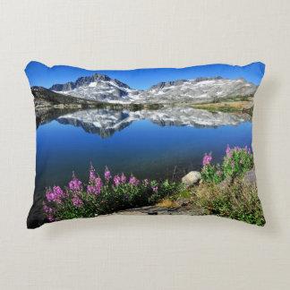 Eastern Sierra Mountains Decorative Pillow