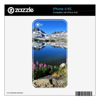 Eastern Sierra Mountains Skin For iPhone 4S