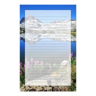 Eastern Sierra Mountains Stationery