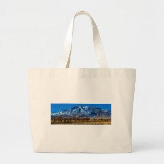 Eastern Sierra Nevada Fall - Bishop - Californa Large Tote Bag