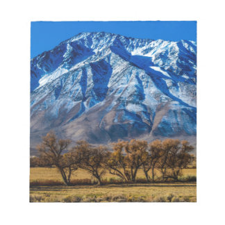 Eastern Sierra Nevada Fall - Bishop - Californa Notepad