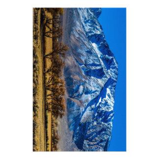 Eastern Sierra Nevada Fall - Bishop - Californa Stationery