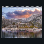 "Eastern Sierra Nevada Mountains, California Calendar<br><div class=""desc"">The Eastern Sierra Nevada mountains with many beautiful locations displayed on this calendar. Fourteen different images of Mammoth Lakes and surrounding sites. Some include, Bodie Ghost Town, June Lake Loop, Convict Lake, Hot Creek and Little Lakes Valley. Very nice display of high elevation mountain scenery to enjoy year round. Makes...</div>"