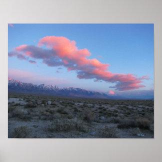 Eastern Sierra Sunrise Art Print