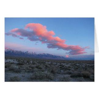 Eastern Sierra Sunrise Greeting Card