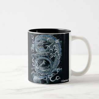 Eastern Sky Asian Dragon Mug