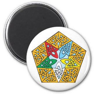 Eastern Star Celtic Knot Magnet