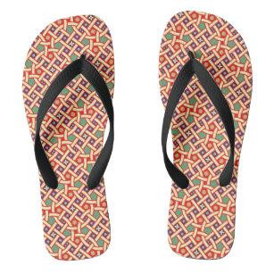 f92b30080f5241 A Woman With Sandals & Flip Flops   Zazzle