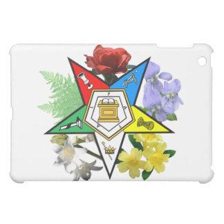 Eastern Star Floral Emblem iPad Case