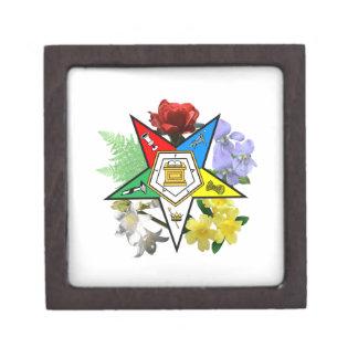 Eastern Star Floral Gift Box Premium Keepsake Boxes