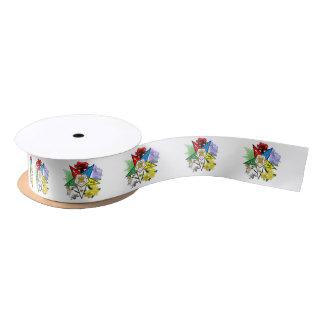 Eastern Star floral ribbon