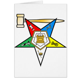 Eastern Star Past Matron items Greeting Card