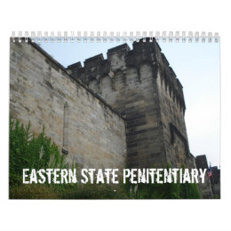 Eastern State Penitentiary Calendar