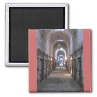 Eastern State Penitentiary CB 2 Inch Square Magnet