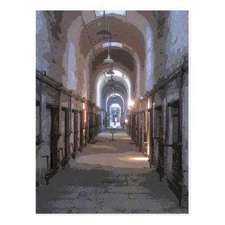 Eastern State Penitentiary CB Postcard