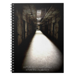 Eastern State Penitentiary Corridor Spiral Notebook