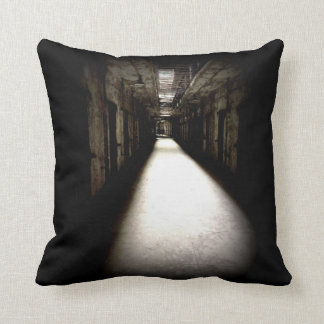 Eastern State Penitentiary Halloween Decor Pillow