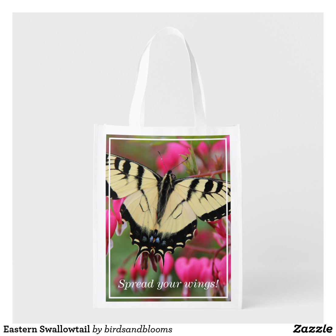 Eastern Swallowtail Reusable Grocery Bag