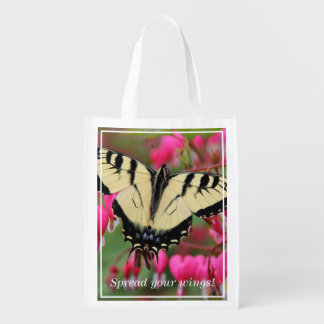 Eastern Swallowtail Reusable Grocery Bags