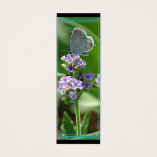Eastern Tailed Blue Butterfly Bookmark Mini Business Card