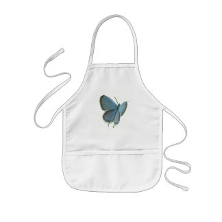Eastern-Tailed Blue Butterfly Kids' Apron