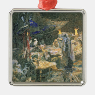 Eastern Tale, 1886 Metal Ornament